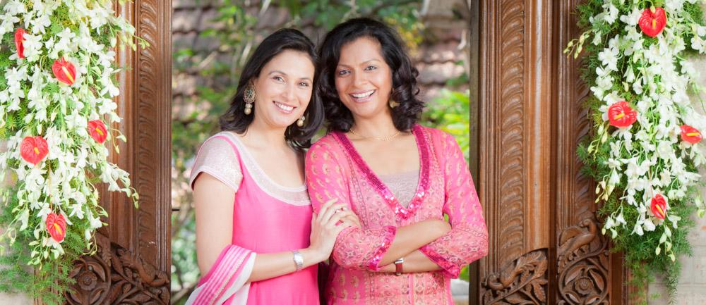 Divya and Vithika