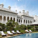 Swimming Pool at the Taj Falaknuma Palace
