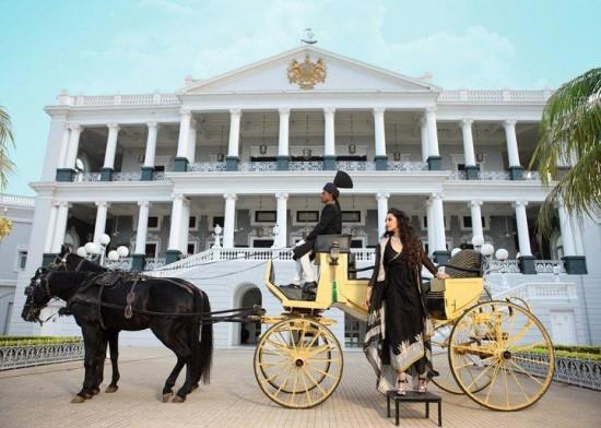 The Taj Falaknuma Palace Hotel, Hyderabad | Divya Vithika Wedding ...