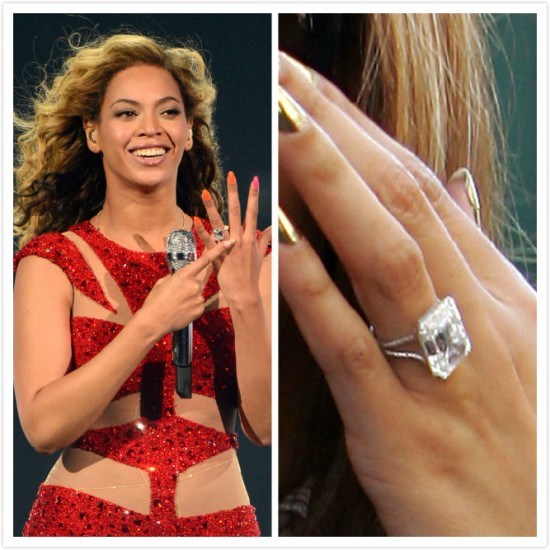 Our Top 5 Engagement Rings Of Celebrity Couples