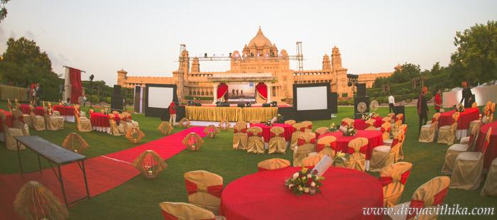 Wedding Themed Event At Umaid Bhawan Palace Jodhpur