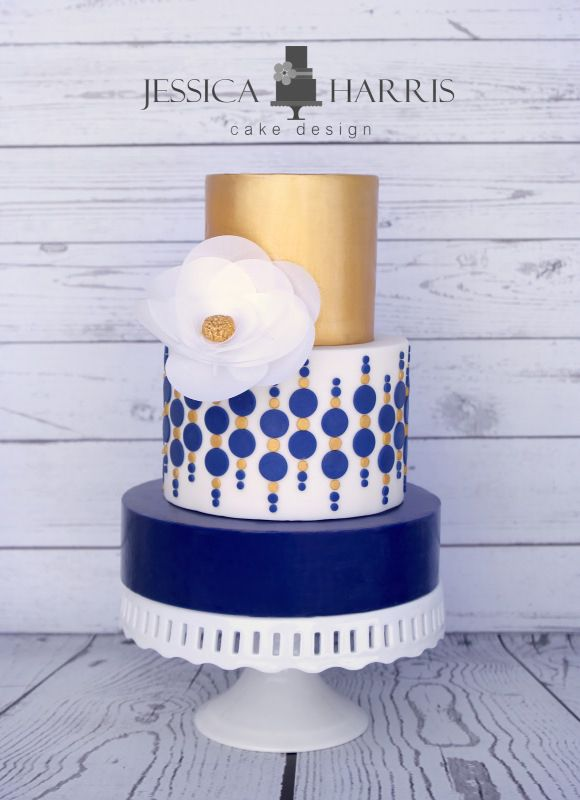 Circle Wedding Cake Designs