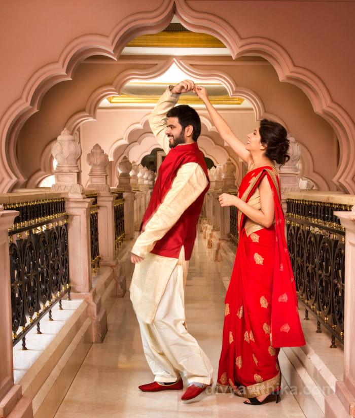 Raghav and Amrita