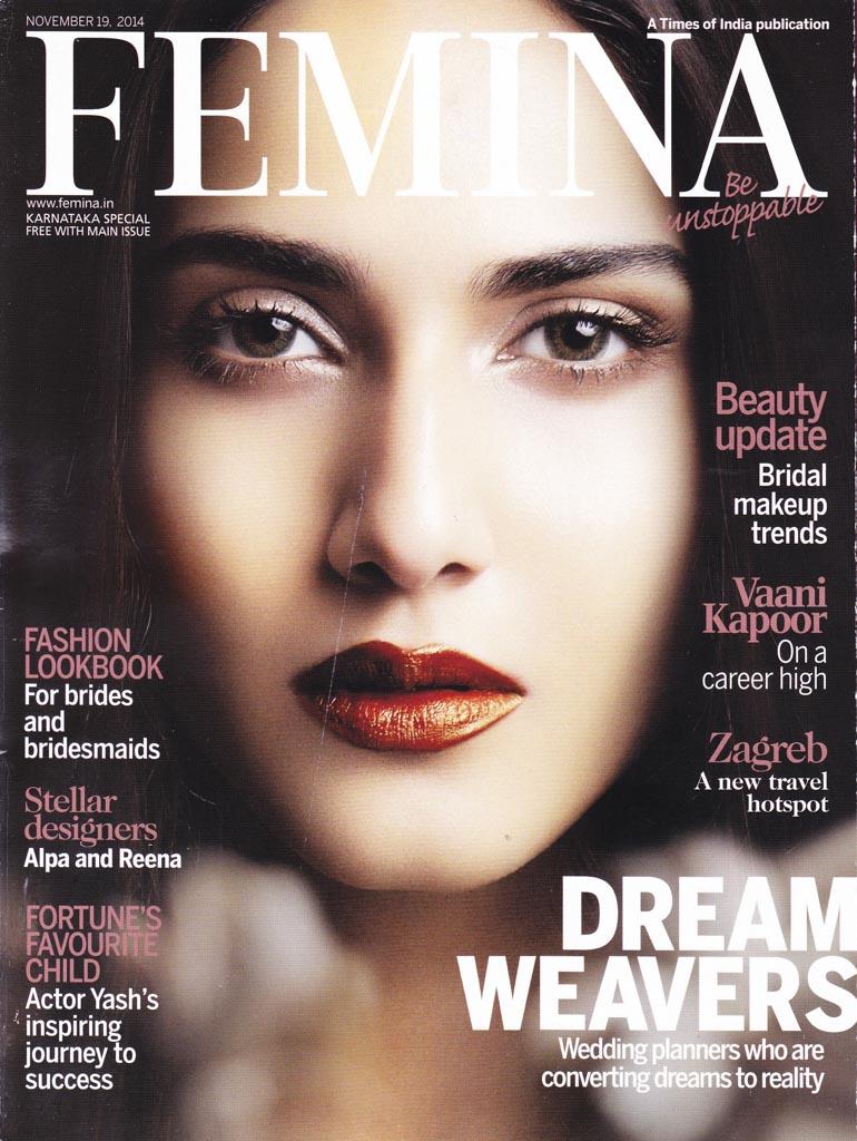 Suvarnaa: Yami Gautam on the Femina Magazine Cover Page