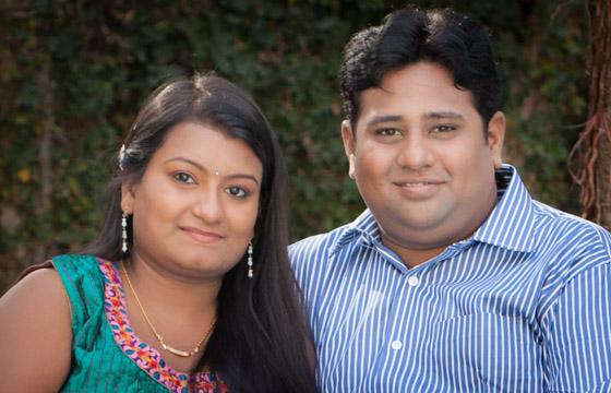 Karthik and Shilpa