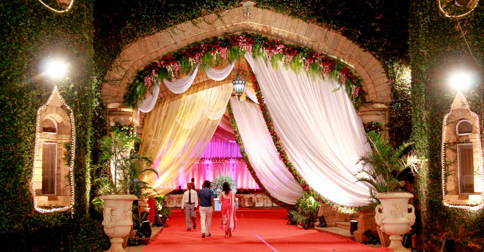 The Reception Entrance