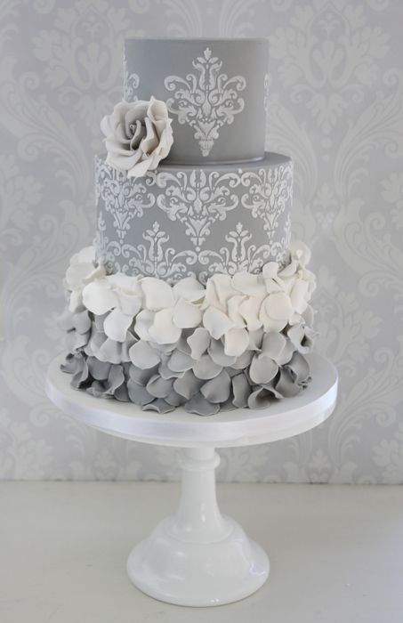 grey wedding cake ideas amazing wedding cake inspiration and idea s divya 14984