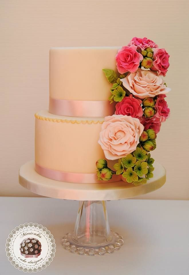 pink cakes 40