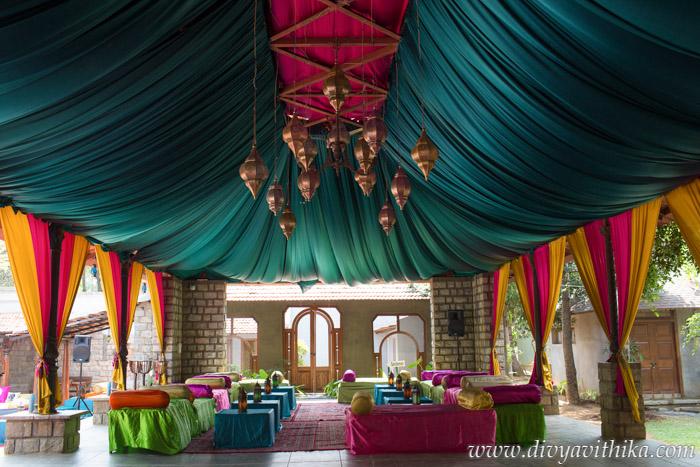 Moroccan Themed Wedding Decor